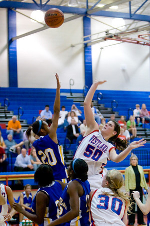 WHS Girls Basketball & PiPs 2008-12-19