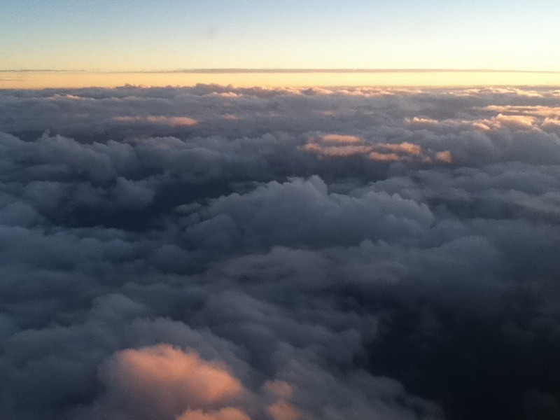 NC clouds from 20k feet