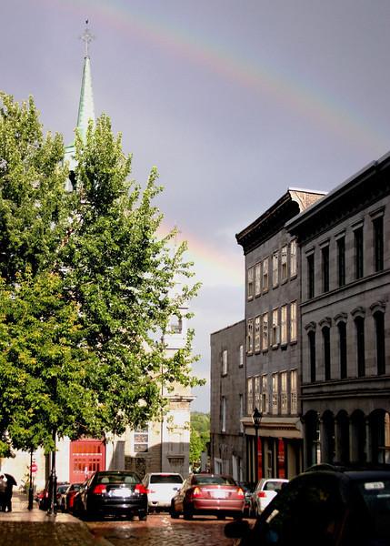 Notre Dame Double Rainbow