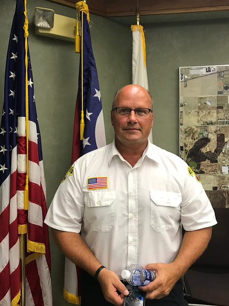 08-22-17 NEWS Archbold fire chief dave davis