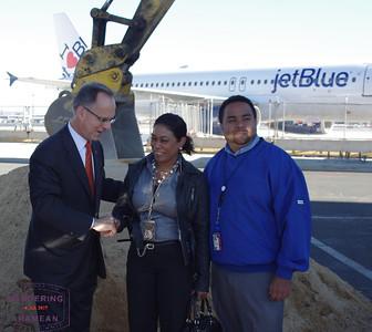 Groundbreaking for JetBlue's JFK T5i