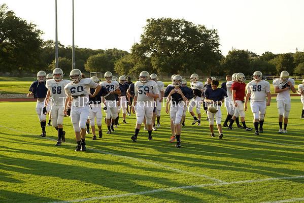 Regents Football Varsity 2012