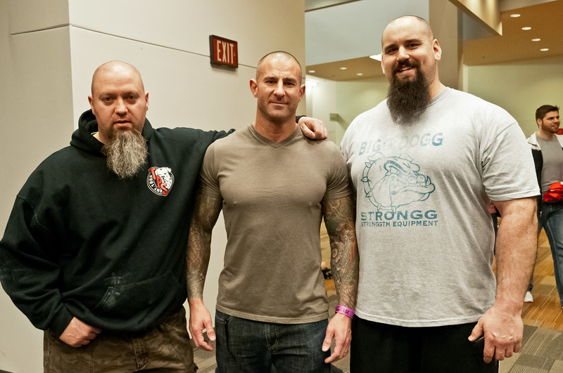 Murph & Eric at the Arnold Sports Expo