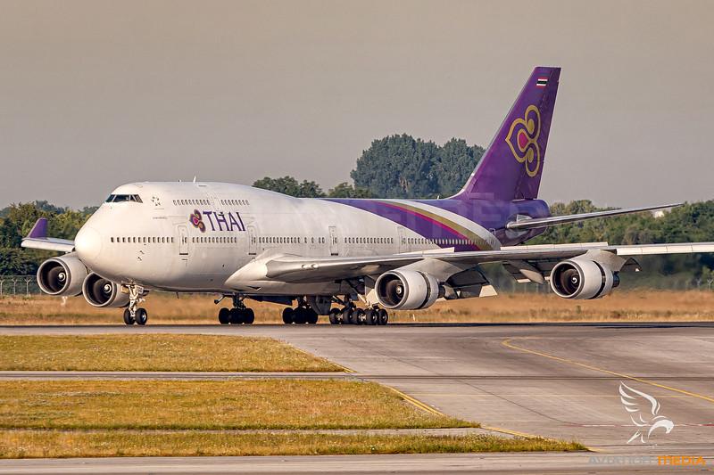 Thai Airways / Boeing 747-400 / HS-TGO