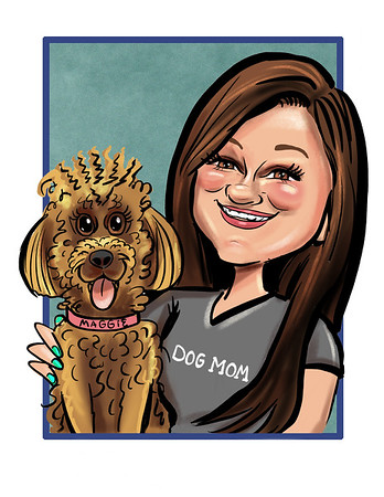 Caricature from photo