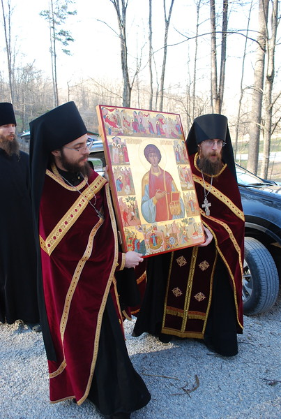 Arrival of St. Panteleimon Icon (2017)