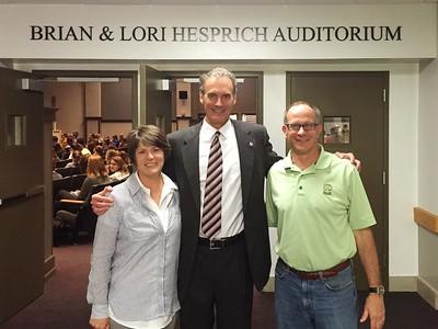 2016 UWL Brian and Lori Hesprich Donors Auditorium