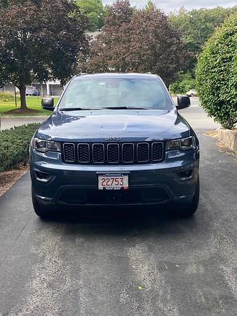 New 2021 Slate Blue Jeep