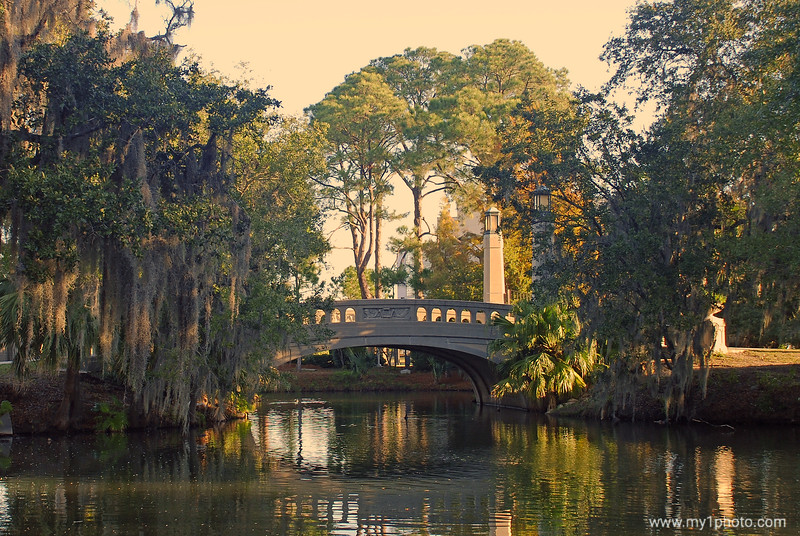 A City Park Bridge New Orleans, Louisiana