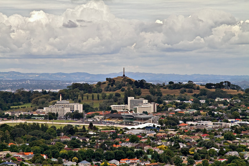 One Tree Hill from Mount Eden
