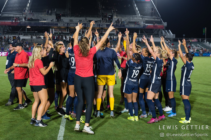 NWSL Regular Season Week 22 - NC Courage vs Orlando Pride