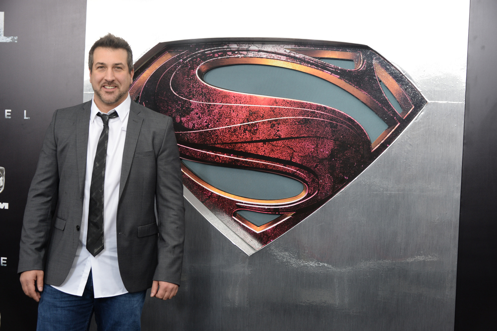 """. Joey Fatone attends the \""""Man Of Steel\"""" world premiere at Alice Tully Hall at Lincoln Center on June 10, 2013 in New York City.  (Photo by Andrew H. Walker/Getty Images)"""