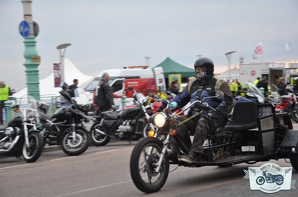 Brighton Bike August Riding in