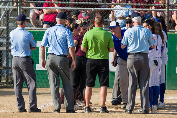 Softball County Playoff 2017