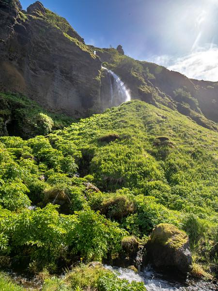 Iceland Waterfall #51  Photography by Wayne Heim