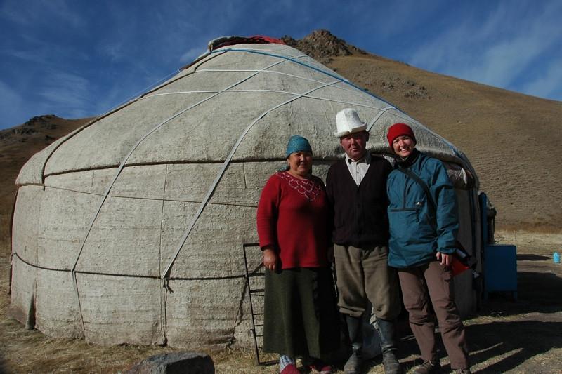 Yurt in the High Pastures - Song Kul, Kyrgyzstan