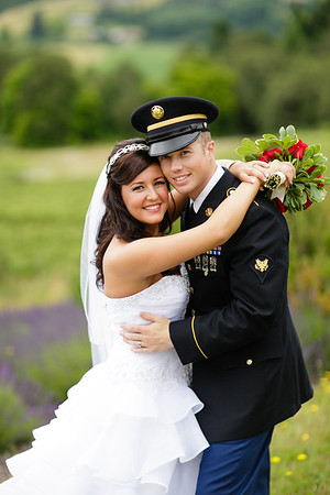 First Look & Couples Pictures