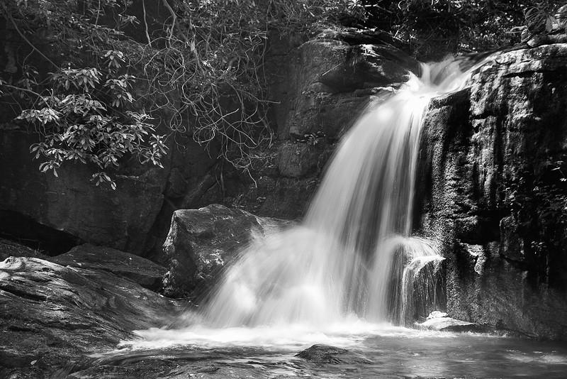 Falls on Dodd Creek on the Raven Cliff Falls Trail