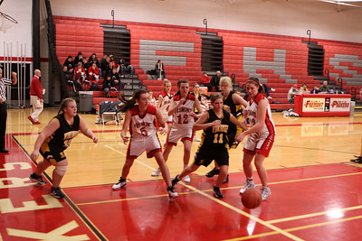 Girls JV Basketball - 2010-2011 - 12/9/2010 Tri-County