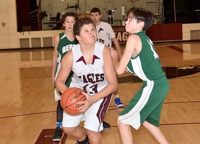 AMHS JV Boys Basketball vs L & G photos by Gary Baker