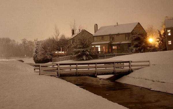 Night Time Snowfall