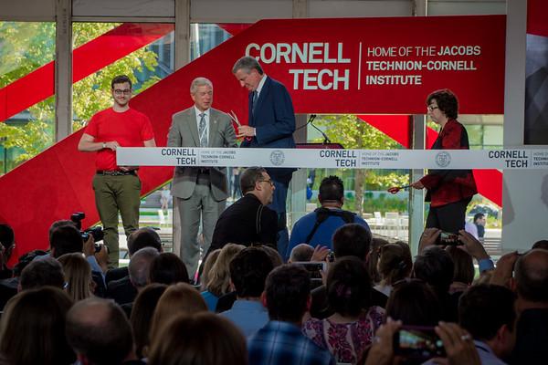 2017-09-13-Ribbon Cutting Cornell Tech