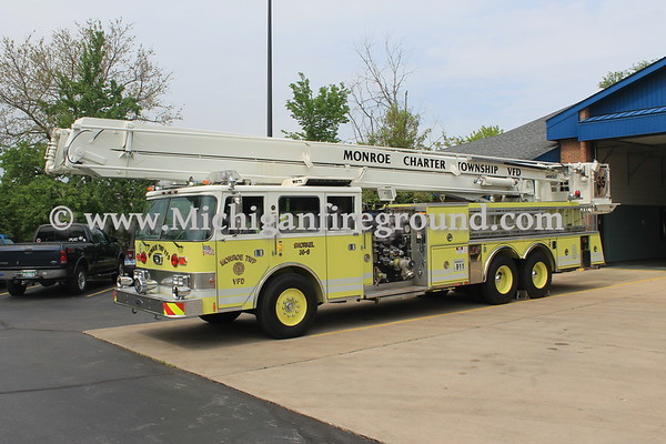 Monroe Township, Michigan, Fire Department