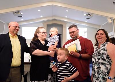 RBC's Parent / Child Dedication, May 12, 2019