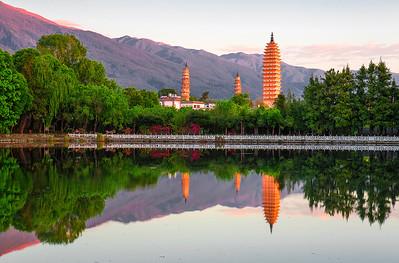 China, Li Jiang, Dali, Yunnan, China.  丽江, 大理, 云南
