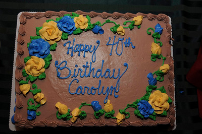 Carolyn's Surprise Birthday Party