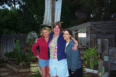 Stacie, Kelly and Michele in Del Mar