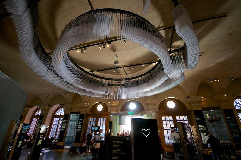 Stockholm - Nobel Museum on Gamla Stan, lobby view