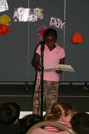 Young Authors Day, Kammula 2007