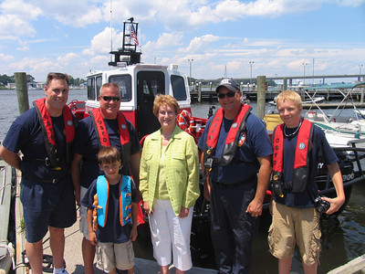 6/24/2010 DEP Boat Launch with Governor Rell