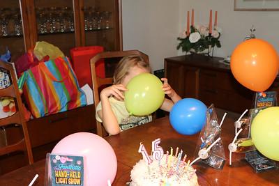 Danny's 15th Birthday