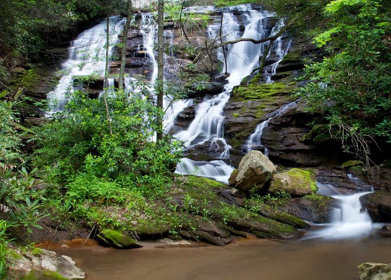 Falls on Tilley Mill Creek, Rabun County