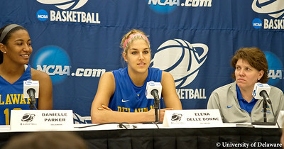 Press Conference and Practice  3-17-12