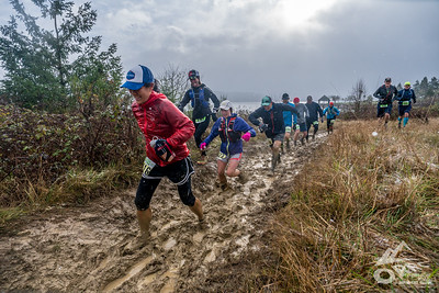 2018-02-18 Hagg Lake mud Run 25k