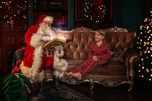 McKeel Santa Photo