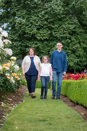 Mya & Ben Erickson family photo session