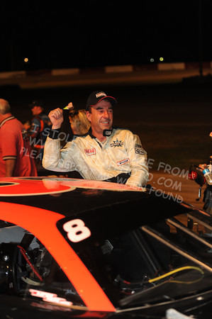 "ASA Midwest Tour ""Wayne Carter Classic ECHO Bear Cat 100"" Victory Lane"