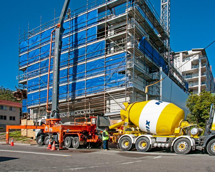 Building progress 104. At 47 Beane St. Gosford. July 2018.
