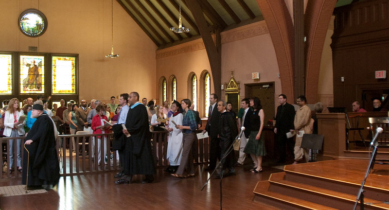 Day 3 - The procession at the start of the Baccalaureate