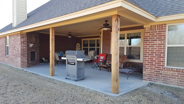Enclosed patio Rhome