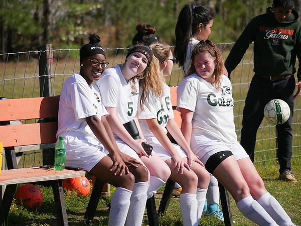 ECHS JV Soccer April 12