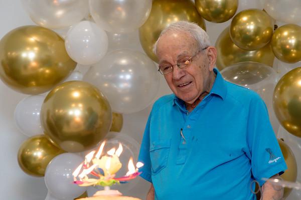 Bro Eldon, 99 Years young!  05.23.21 & 05.30.21