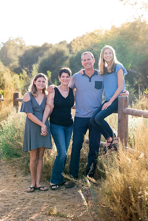 92037 San Diego Fall Rustic Ranch Family Portraits