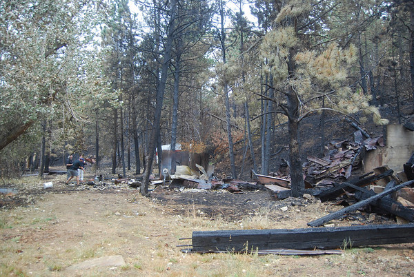 2010 Sunshine Canyon fire damage