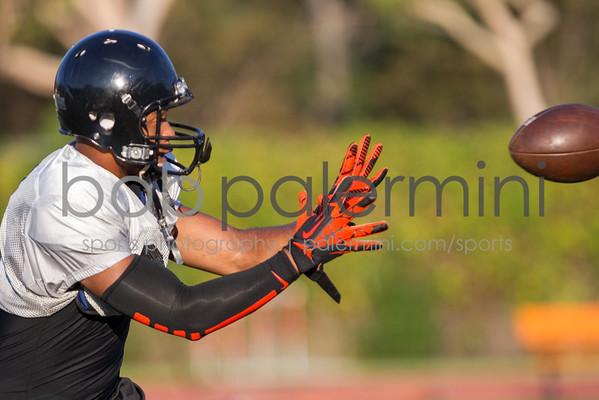 Oxy Football Practice 8-30-13