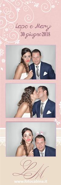 Photobooth con Fotocabina Matrimonio - Lapo e Mary 30 Giugno 2018